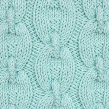 Chain Cable Knitting Stitch