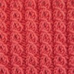 Free Eyelet Mock Cable Knitting Stitch