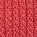 Free Eyelet Mock Cable Knitting Stitch