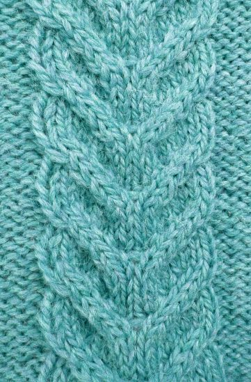 Free Staghorn Cable Knitting Stitch