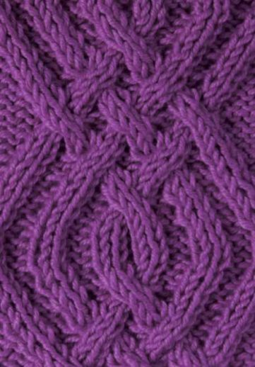 Free Triple Criss Cross Cable Knitting Stitch