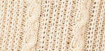 Gansey Snake Cable Knitting Stitch