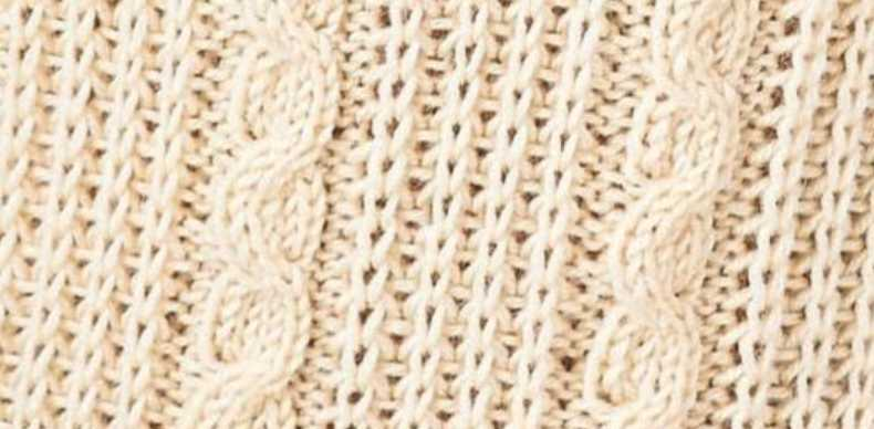Gansey Snake Cable Knitting Stitch