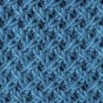 Lattice Pattern Knitting Stitch
