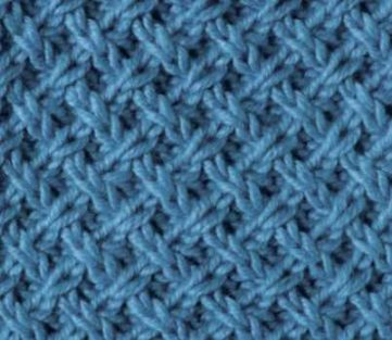 Lattice Pattern Knitting Stitch