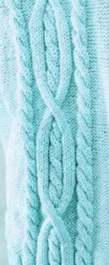 Cable Stitch with Ropes