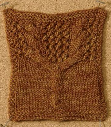 Cable and Lace Knitting Stitches