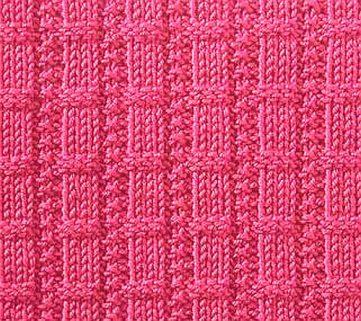 Free Waffle Ribs Knitting Stitch
