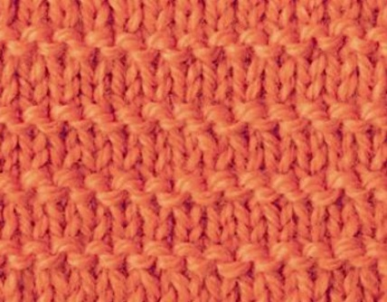 Garter Stitch Stripe Free Knitting Stitch