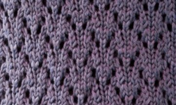 Lace Knitting Stitch Easy Chart Free