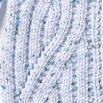 Rib Cable Knitting Stitch Panel