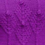Fir Cluster Knitting Stitch