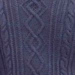 Cable and Diamond Panel Knitting Stitch