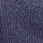 Cable and Diamond Panel Knitting Stitch