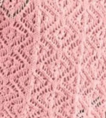 Lace Diamond Stitch