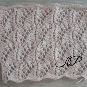 Wheat Lace Crochet Stitch