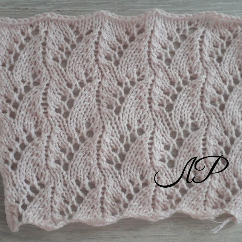 Wheat Lace Crochet Stitch