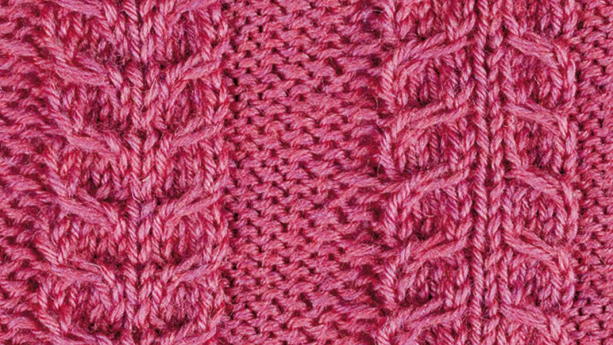 free knitting stitch pattern for cables