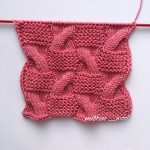 Free Knit Stitch for Garter and Cable Checks