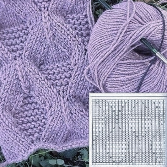 Figure Eights Knitting Stitch