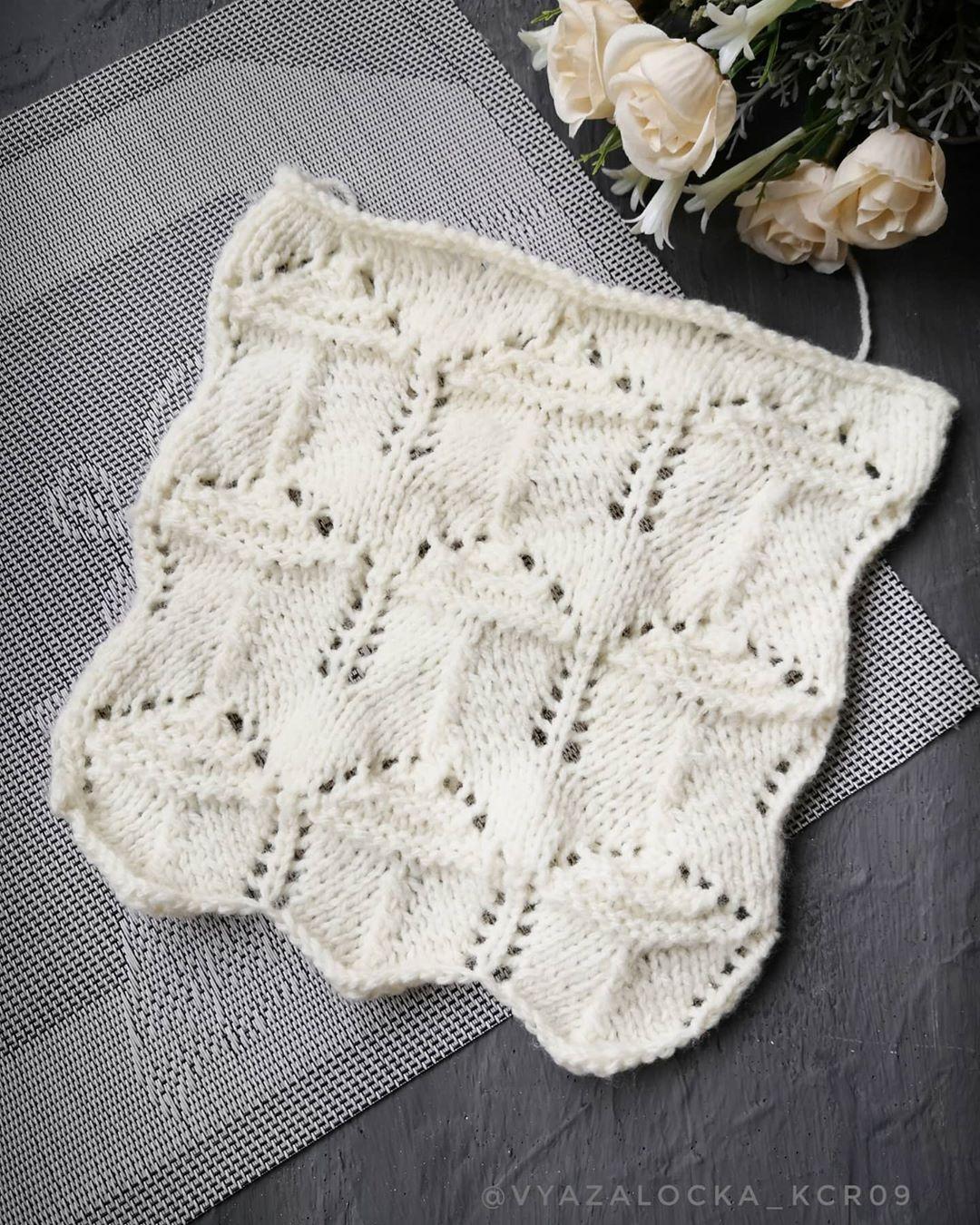 Eyelet Hutch Knit Stitch