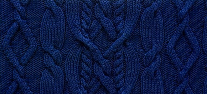 Heart cable knitting panel instructions