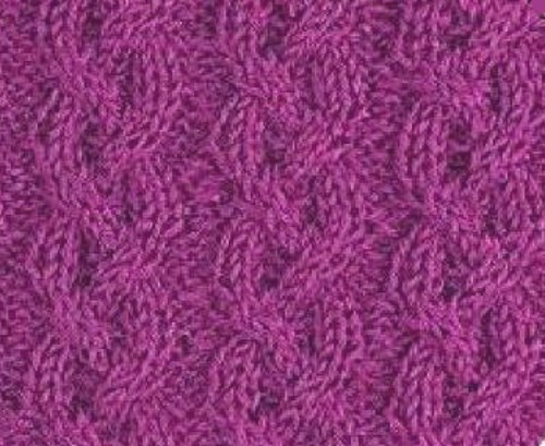 Braid Cable Knitting Stitch