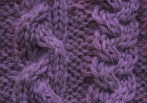 Braided Cable Knitting Pattern