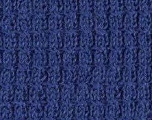 Cable rib knitting stitch