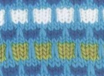 Ribbon Stitch Knitting Pattern