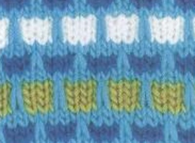 Ribbon Stitch Knitting Pattern