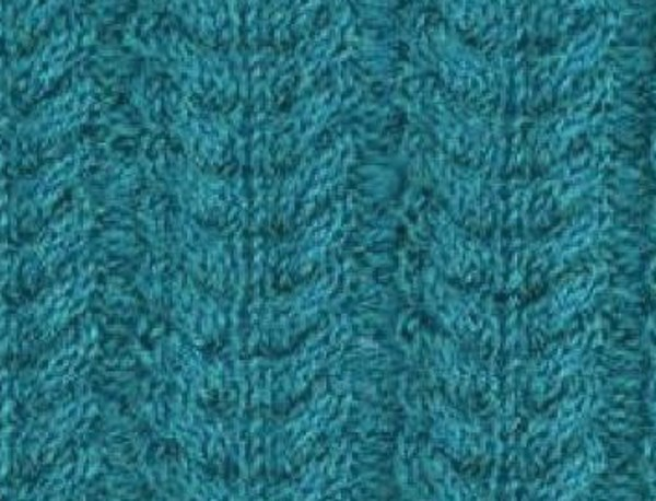 Wheatear Cable Knitting Stitch