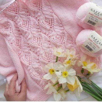 Japanese lace stitch pattern chart