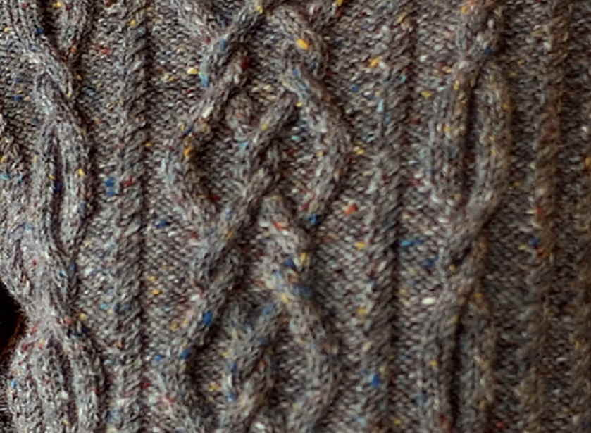Cable Panel Knitting Stitch